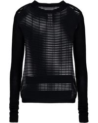 Rick Owens Long Sleeve Jumper - Lyst
