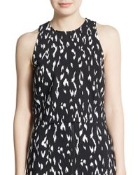 Rachel Zoe Rae Animal-Print Crop Top - Lyst