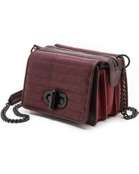 L.a.m.b. Esta Cross Body Bag  Wine - Lyst