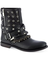 Burberry Jude Leather Boots - Lyst