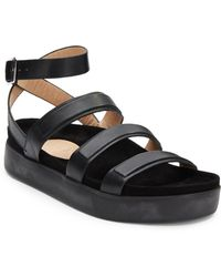 L.a.m.b. Rose Leather Sandals - Lyst