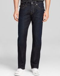 True Religion Jeans Ricky Straight Fit in Wanted Man - Lyst