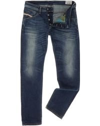 Diesel Belther Tapered Fit Jean - Lyst
