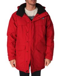 The North Face Mcmurdo Red Parka - Lyst