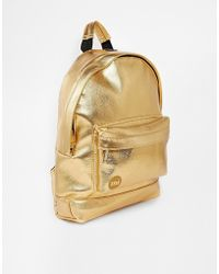 Mi-Pac - Mini Classic Backpack In Gold - Lyst