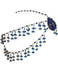 Rosantica - Blue Agate Odalisca Headpiece - Lyst