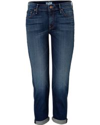 Mother The Dropout Slouchy Skinny Jeans In Eye Candy - Lyst