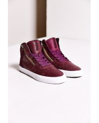 Supra Cracked Leather Cuttler Sneaker - Lyst