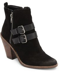 Dolce Vita Connery Leather Ankle Boots - Lyst
