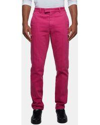 Sibling - Denim Classic Pleat Trousers - Lyst