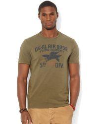 Polo Ralph Lauren Custom Fit Flying Academy T Shirt - Lyst