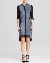 Elie Tahari Felicity Shirt Dress - Lyst