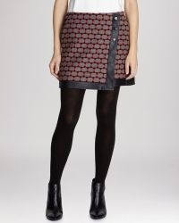 Karen Millen Skirt - Geometric Wrap - Lyst