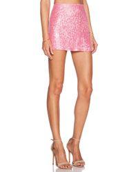 MLV - Justin Sequined Mini Skirt - Lyst