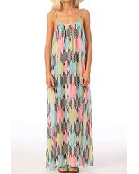 Volcom Pencil Dress Beat Street Dress - Lyst