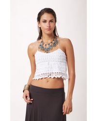 Mink Pink Cotton Fields Top - Lyst