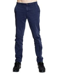 Fred Perry Trouser Slant Pocket Gabardine Slim - Lyst