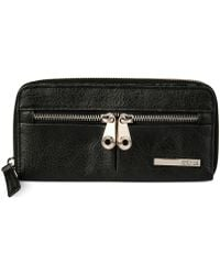 Kenneth Cole Reaction Wooster Street Zip Around Wallet with Front Panel - Lyst
