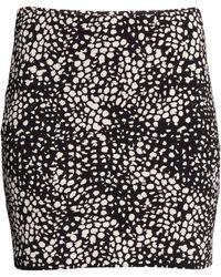 H&M Jersey Skirt - Lyst