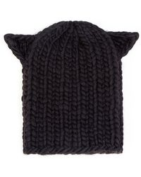 Eugenia Kim Felix Cat-Ear Knit Hat - Lyst