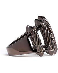 Eddie Borgo - Tension Cable Ring - Lyst