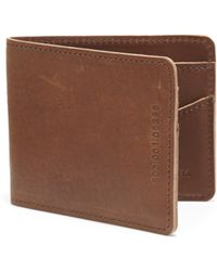 Shinola Leather Bifold Wallet - Lyst