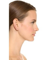Kristen Elspeth - Threader Arc Ear Pin - Gold - Lyst