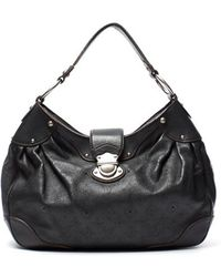 Louis Vuitton Leather Mahina Xs Hobo Bag - Lyst