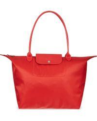 Longchamp Le Pliage Neo Large Shopper - For Women - Lyst