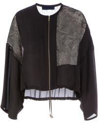 Sharon Wauchob - Lace Panel Jacket - Lyst