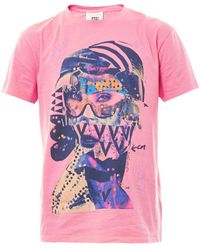 Marc Jacobs Bastprint Cottonblend Tshirt - Lyst