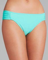 Shoshanna Solid Tab Bikini Bottom - Lyst