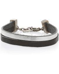 BOSS Orange - Leather Bracelet: 'morissa' - Lyst