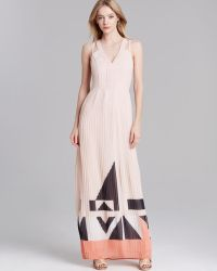 French Connection Maxi Dress Marquee Parade - Lyst