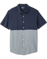 RVCA Smoothed Out Short Sleeve Shirt - Lyst