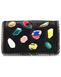 Stella McCartney Falabella Embellished Cross-body Bag - Lyst