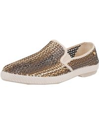 Rivieras Lord Oros Woven Loafer - Lyst