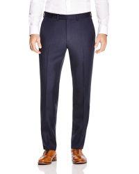 Eidos - Micro Nailhead Herringbone Regular Fit Trousers - 100% Bloomingdale's Exclusive - Lyst