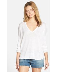 Feel The Piece - 'Liza' V-Neck Sweater - Lyst