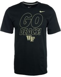 Nike Mens Shortsleeve Wake Forest Demon Deacons Tshirt - Lyst