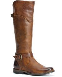 Frye Phillip Leather Tall Riding Boots - Lyst