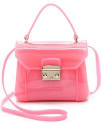 Furla Candy Bon Bon Mini Bag - Rose - Lyst