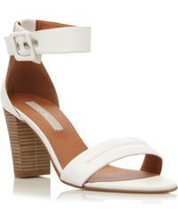 Pied a Terre | Fragrant 2 Part Block Heel Sandals | Lyst