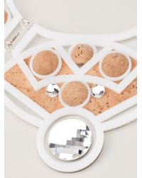 Holly Fulton - Cork Dome Necklace - Lyst