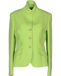 Ralph Lauren Blazer green - Lyst