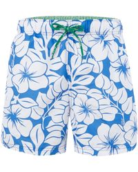 Tommy Hilfiger Hibiscus All Over Print Swim Short - Lyst