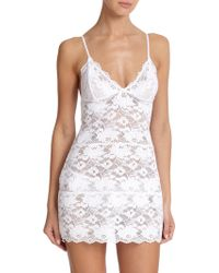 In Bloom Bridal Stretch Lace Chemise - Lyst