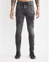 Only & Sons | Mens 5-pocket Slim Jeans Grey | Lyst
