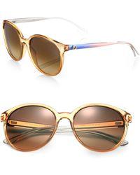 Gucci OmbrÉ Optyl Sunglasses - Lyst