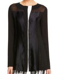 Donna Karan New York Long Sleeve Collage Tunic - Lyst